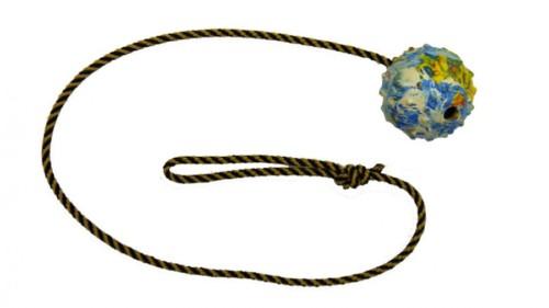 Balónek, šňůrka 100 cm, průměr 7 cm