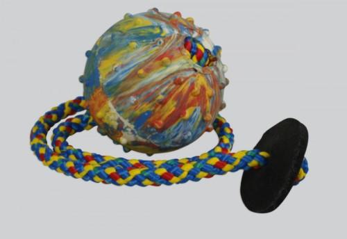 Balónek s kroužkem, 6 cm, šňůrka 50 cm