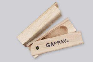 Předmět otevírací, dřevo, stopa