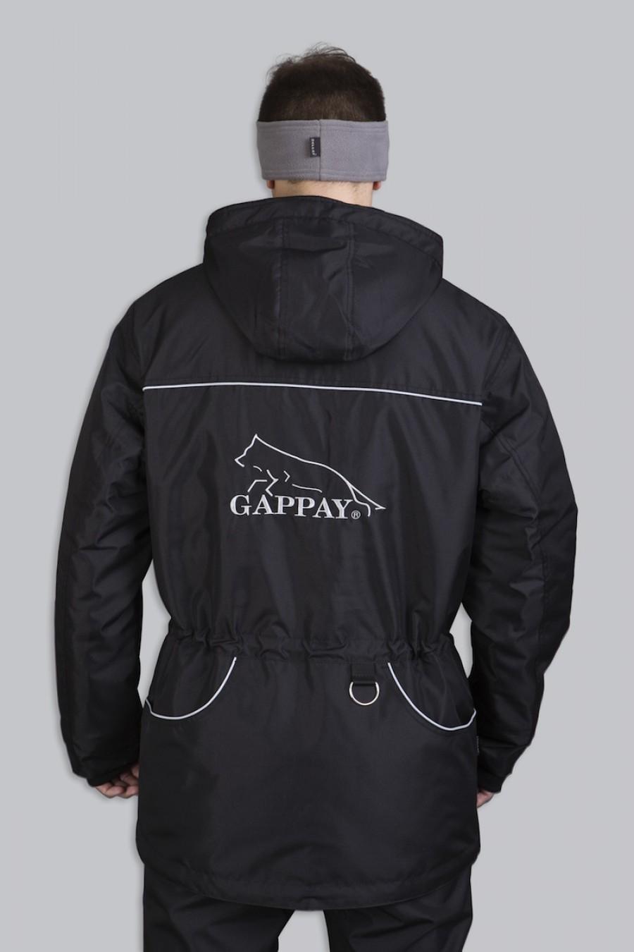 Bunda SUPRIMA-THERM s kapucí záda