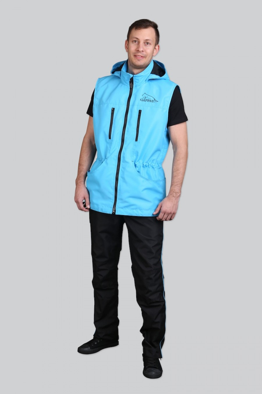 Výcviková vesta Color - modrá